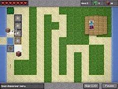Minecraft Towerdefense Minecraft Spiele Auf POMUde - Minecraft pixel spiele