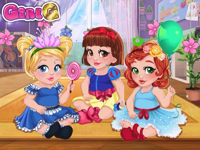 Baby Girls´ Dress Up Fun | Anzieh Spiele auf POMU.de
